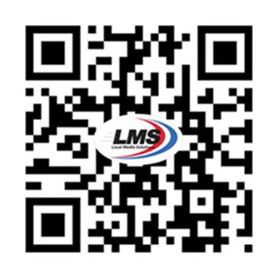 Local Media Solutions Mobile Website QR Code